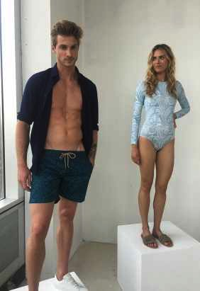 2066222ac1e2 Blue Flame Hautheness - Thorsun Swimwear Presentation SS 18