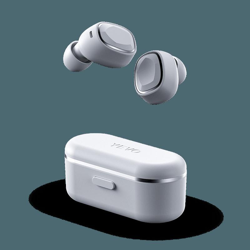 VEVO Air White Wireless Earbuds