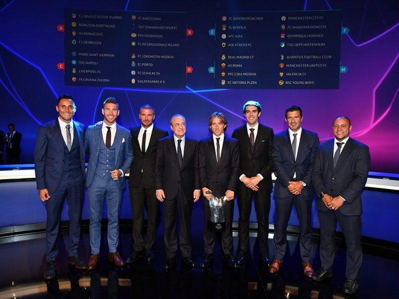 UEFA ECF Season Kick Off 2018/19 – Champions League