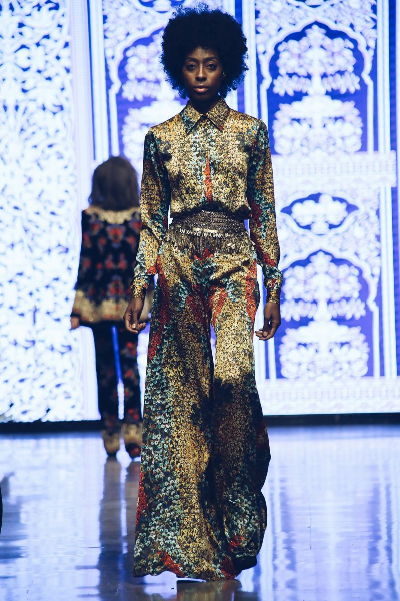 Naeem Khan Fall 2019 Collection, LAFW