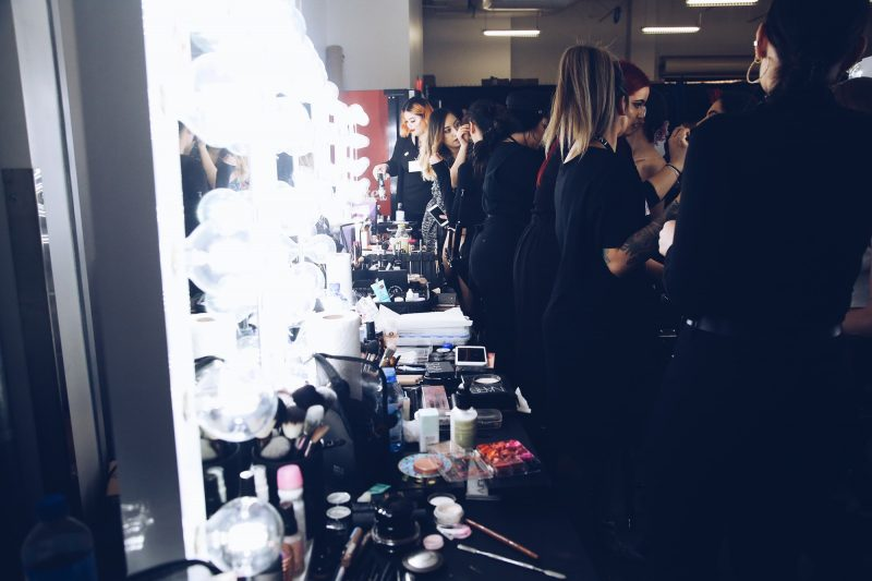 Backstage Beauty at Los Angeles Fashion Week